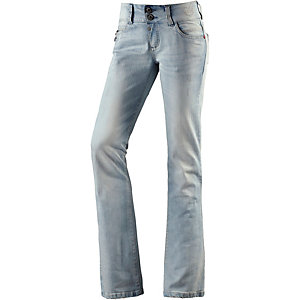 TIMEZONE GretaTZ Bootcut Jeans Damen light denim
