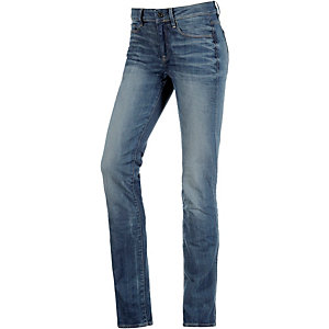 G-Star 3301 Contour High Straight Straight Fit Jeans Damen used denim
