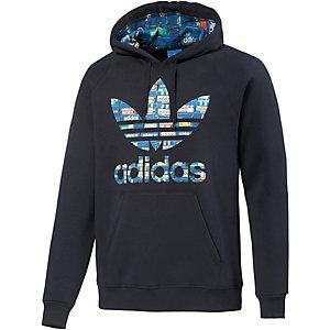 adidas Hoodie Herren dunkelblau/bunt