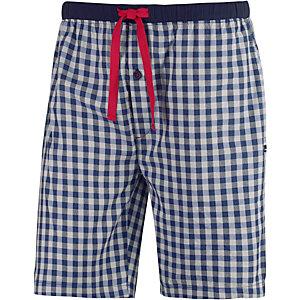 TOM TAILOR Shorts Herren blau/weiß