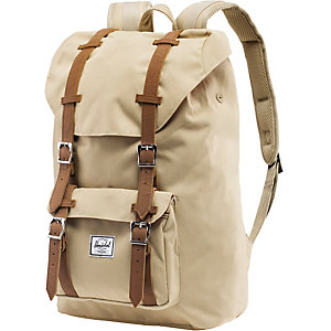 Herschel Daypack Khaki/Tan Synthetic Leather