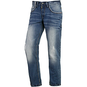 TIMEZONE GerritTZ Straight Fit Jeans Herren destroyed denim