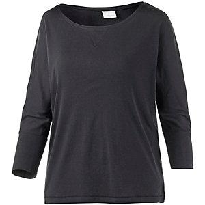 wellicious Langarmshirt Damen schwarz