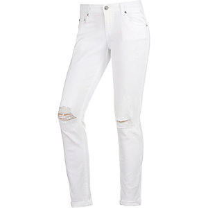 LTB Mina Skinny Fit Jeans Damen white denim