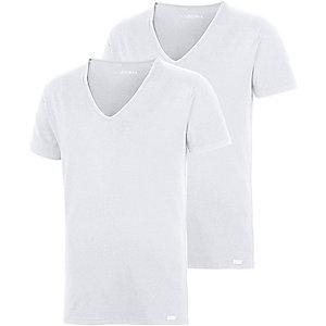 Jockey V-Shirt Herren weiß