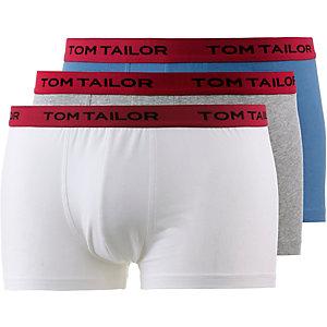TOM TAILOR Boxer Herren graumelange/blau/weiß