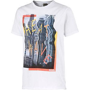Bench T-Shirt Herren weiß/bunt