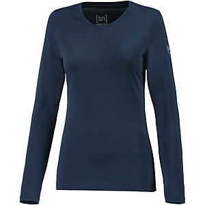 super natural Unterhemd Damen navy