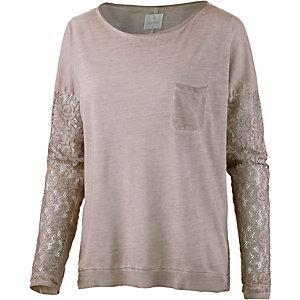 Culture Langarmshirt Damen rosa