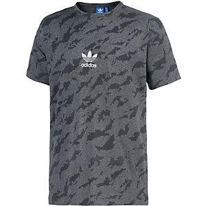 adidas T-Shirt Herren anthrazit/schwarz