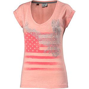 TIMEZONE Printshirt Damen apricot