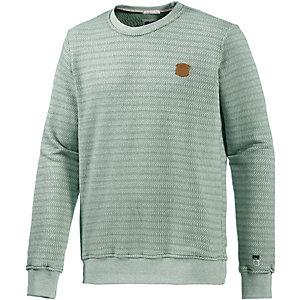 M.O.D Sweatshirt Herren hellgrün/weiß