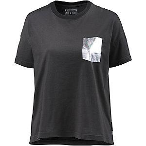 CONVERSE Oversize Shirt Damen dunkelgrau