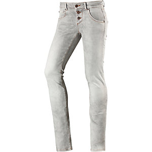 M.O.D Ulla Skinny Fit Jeans Damen grey denim