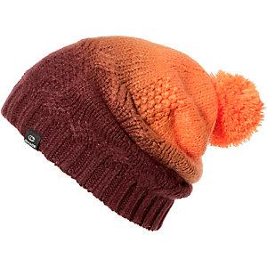 CHAOS Mütze Beanie Purple Bommelmütze orange
