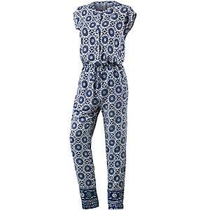 pepe jeans jumpsuit damen blau wei im online shop von. Black Bedroom Furniture Sets. Home Design Ideas