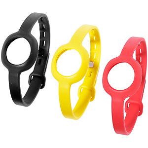 Jawbone UP Move Uhrband gelb/rot/schwarz