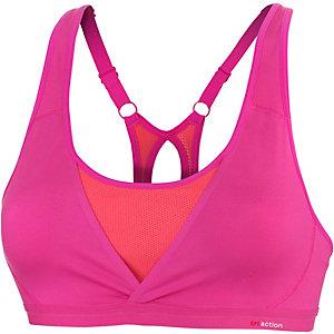 TRIUMPH Zest Pro Top Sport-BH Damen pink/orange