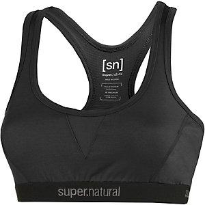 super natural Semplice Merino Sport-BH Damen schwarz