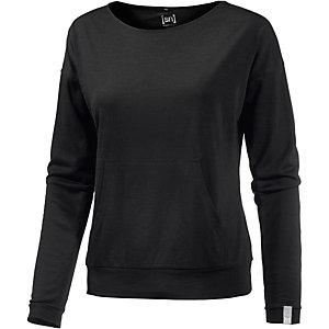 super natural Langarmshirt Damen schwarz