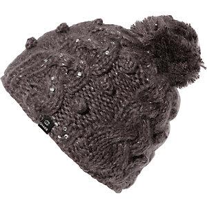 CHAOS Mütze Beanie Jacory Bommelmütze grau