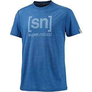 super natural T-Shirt Herren blau