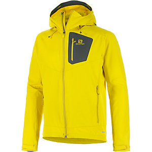 Salomon Ranger Softshelljacke Herren lemon