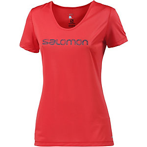 Salomon Mazy Graphic Funktionsshirt Damen rot