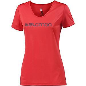 Salomon Mazy Graphic Funktionsshirt Damen rot