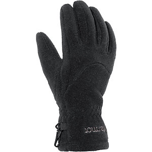 Marmot Fleece Outdoorhandschuhe Damen schwarz