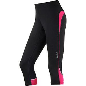 Gore Essential Lauftights Damen schwarz/pink
