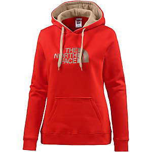 The North Face Drew Peak Hoodie Damen rot