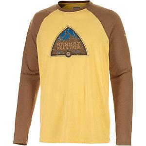 Marmot Owens Langarmshirt Herren gelb/braun