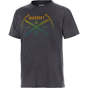 Marmot Ascend Printshirt Herren anthrazit