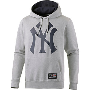 Majestic Athletic NY Yankees Hoodie Herren graumelange