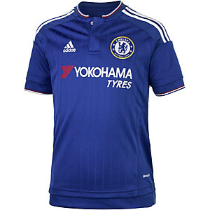 adidas Chelsea 15/16 Heim Fußballtrikot Kinder blau