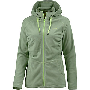 The North Face Mezzaluna Fleecejacke Damen grün