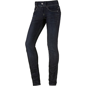 G-Star Skinny Fit Jeans Damen dark denim