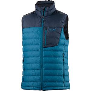Mountain Hardwear Dynotherm Daunenweste Herren blau