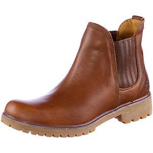 TIMBERLAND Chelsea Boots Damen cognac
