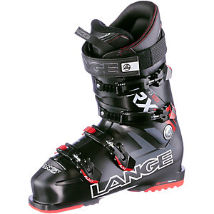 LANGE RX 100 Skischuhe schwarz/rot