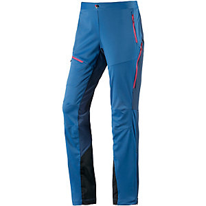 Salomon MINIM Softshellhose Damen blau