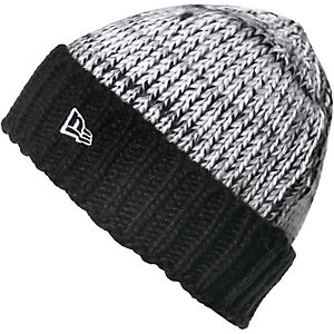 New Era Mütze Fleck Weave Beanie black/gray