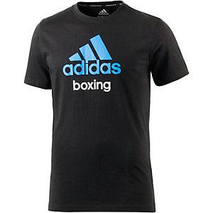 adidas Community T-Shirt schwarz/blau