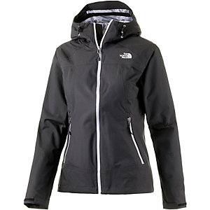The North Face Stratos Regenjacke Damen schwarz