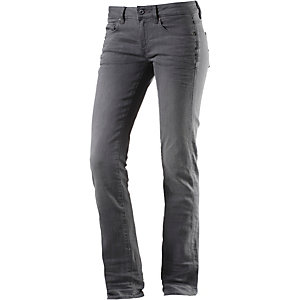 G-Star Attacc Mid Straight Straight Fit Jeans Damen grey denim