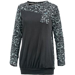 Ragwear Mayday Langarmshirt Damen schwarz