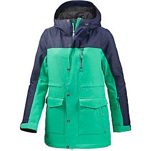 Zimtstern Zwena Snowboardjacke Damen mint/navy
