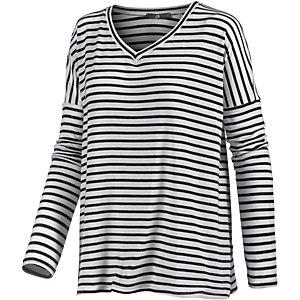LTB V-Pullover Damen weiß/blau
