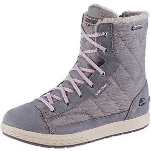 Viking Zip Stiefel Mädchen grau